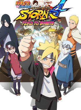 Naruto Shippuden: Ultimate Ninja Storm 4 - Road to Boruto Key Art