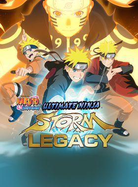 Naruto Shippuden: Ultimate Ninja Storm Legacy Key Art