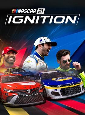 NASCAR 21: Ignition Key Art
