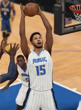 NBA 2K16 Key Art