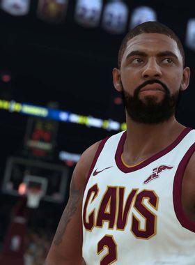 NBA 2K18 Key Art