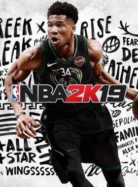 NBA 2K19 Key Art