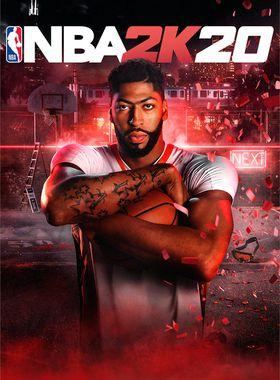 NBA 2K20 Key Art