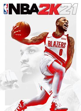NBA 2K21 Key Art