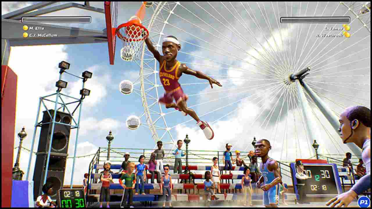 NBA Playgrounds Background Image
