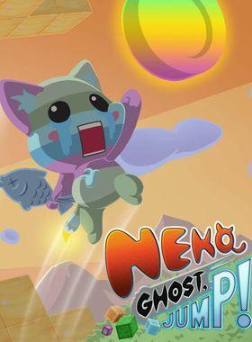 Neko Ghost, Jump! Key Art
