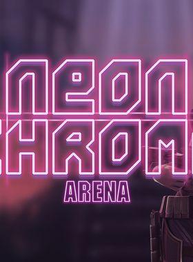 Neon Chrome: Arena Key Art