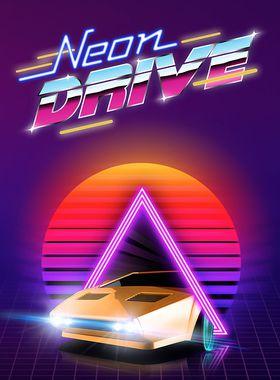 Neon Drive Key Art