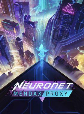 NeuroNet: Mendax Proxy Key Art