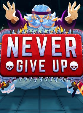 Never give up! Key Art
