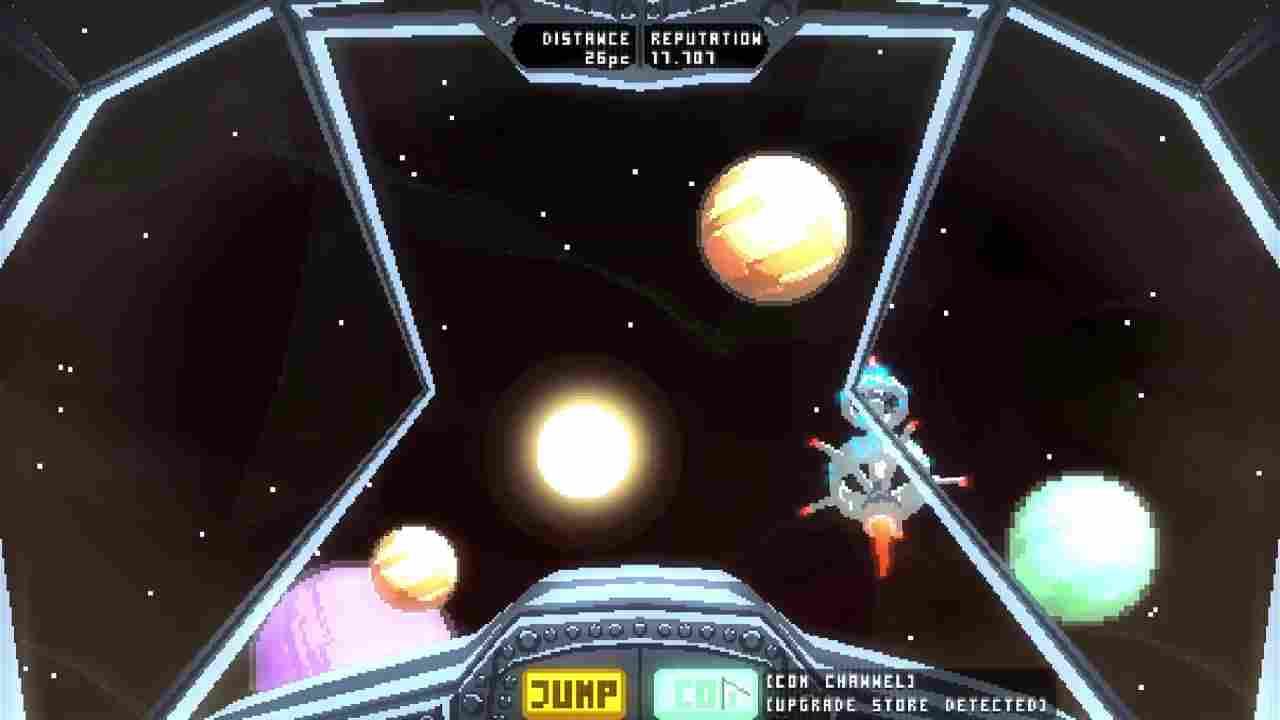 NEXT JUMP: Schmup Tactics Background Image