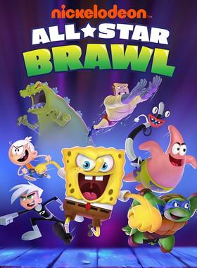 Nickelodeon All-Star Brawl Key Art