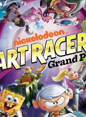 Nickelodeon Kart Racers 2: Grand Prix Key Art