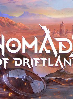 Nomads of Driftland Key Art