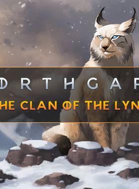 Northgard - Brundr & Kaelinn, Clan of the Lynx Key Art