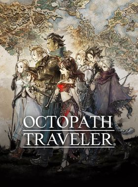 Octopath Traveler Key Art