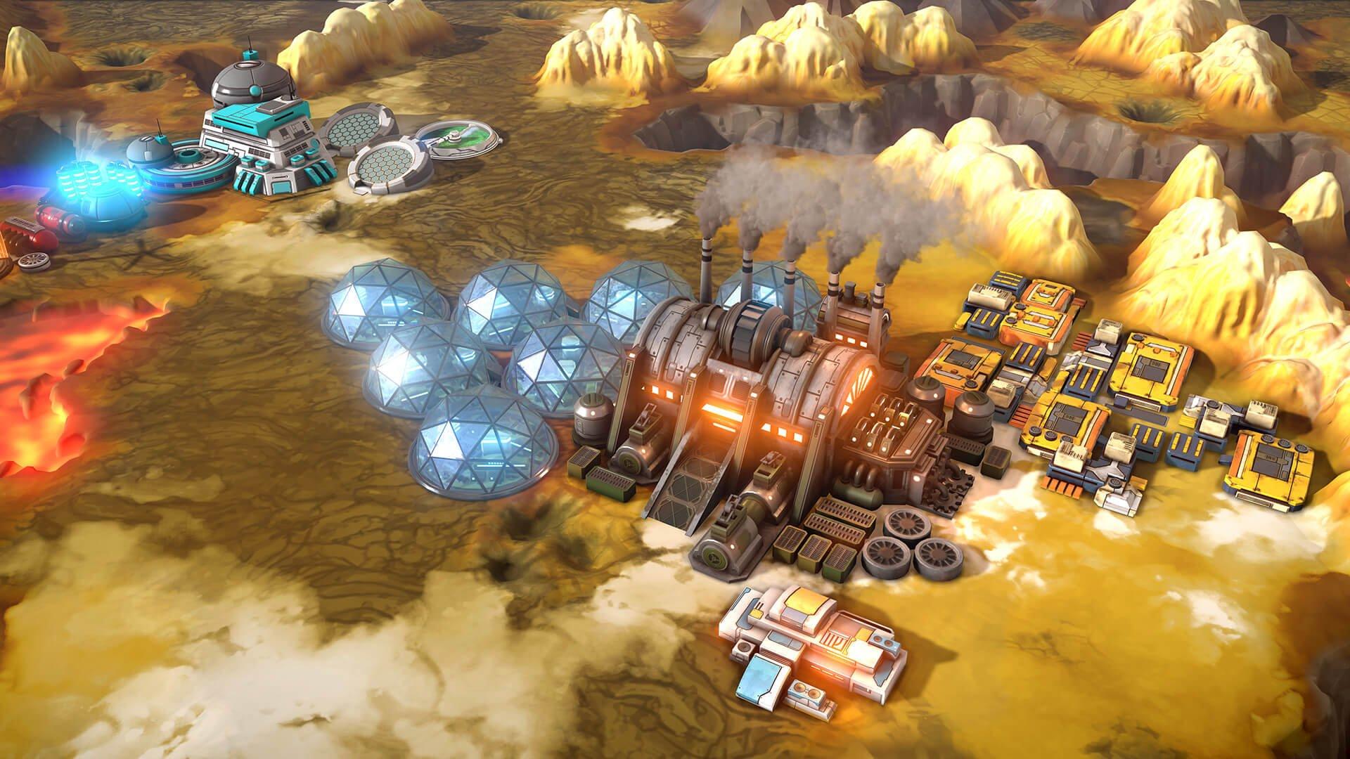 Offworld Trading Company: Jupiter's Forge