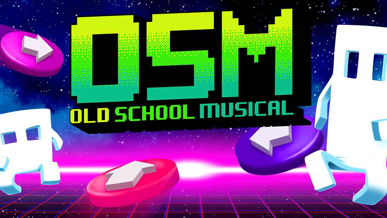 Old School Musical Background Image