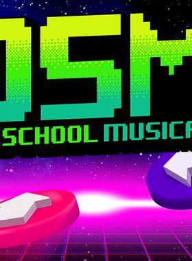 Old School Musical Key Art