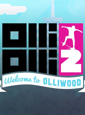 OlliOlli2: Welcome to Olliwood Key Art