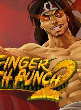 One Finger Death Punch 2 Key Art