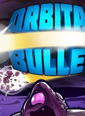 Orbital Bullet – The 360° Rogue-lite Key Art