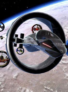 Orbital Racer Key Art