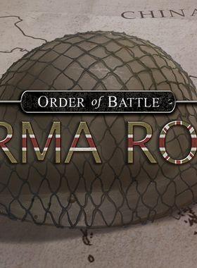 Order of Battle: Burma Road Key Art