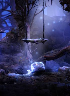 Ori and the Blind Forest Key Art