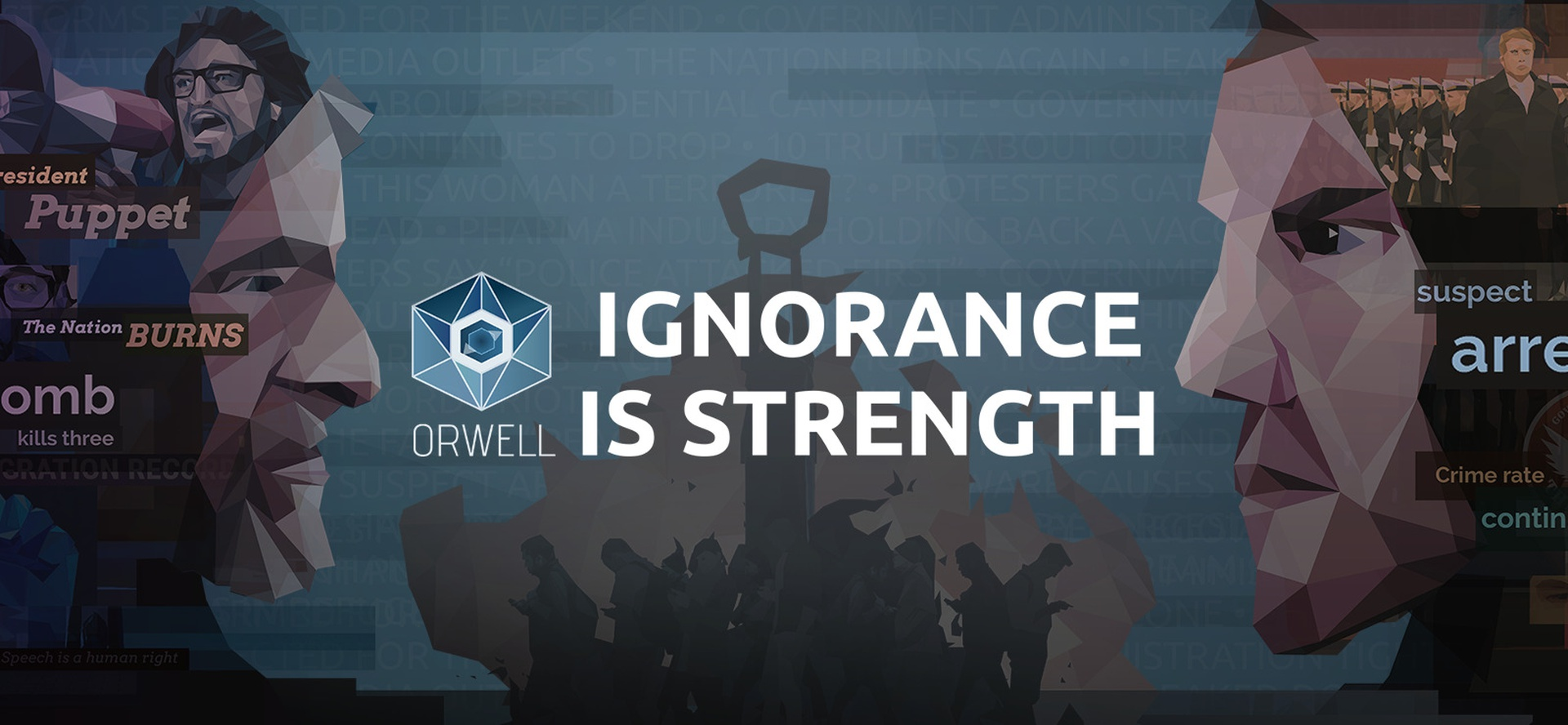 Orwell - Ignorance is Strength