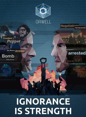 Orwell - Ignorance is Strength Key Art