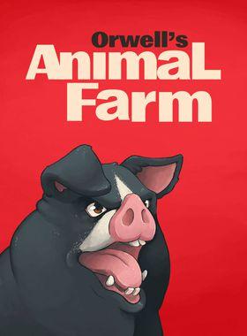 Orwell's Animal Farm Key Art