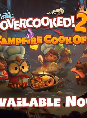 Overcooked 2 - Campfire Cook Off Key Art