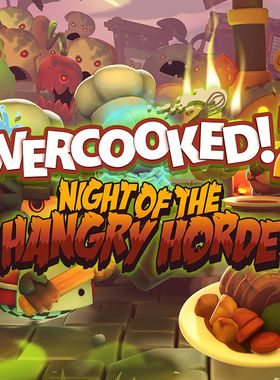 Overcooked! 2 - Night of the Hangry Horde Key Art