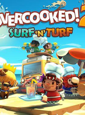 Overcooked 2 - Surf 'n' Turf Key Art
