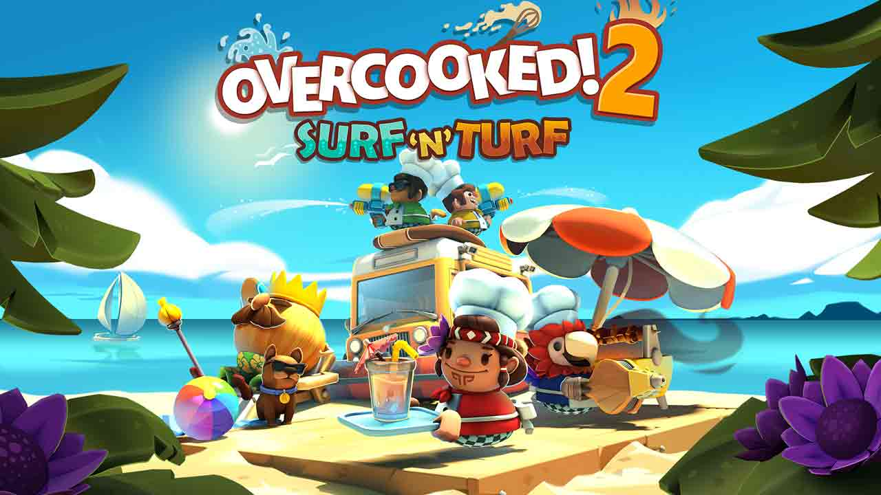 Overcooked 2 - Surf 'n' Turf