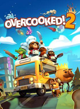 Overcooked 2 Key Art
