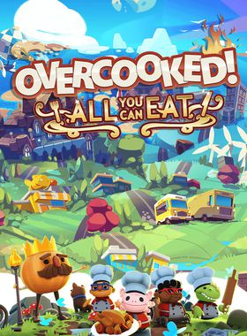 Overcooked! All You Can Eat Key Art