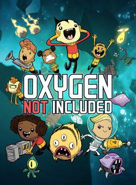 Oxygen Not Included Key Art