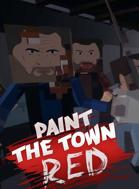 Paint the Town Red Key Art