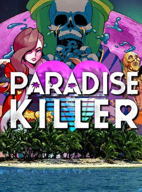 Paradise Killer Key Art