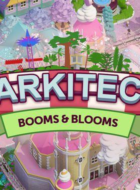 Parkitect - Booms & Blooms Key Art
