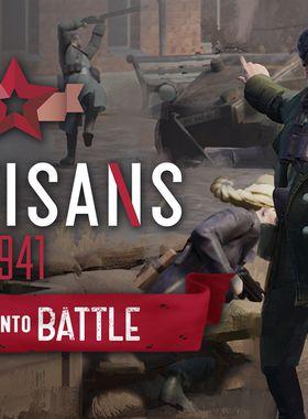 Partisans 1941 - Back Into Battle Key Art