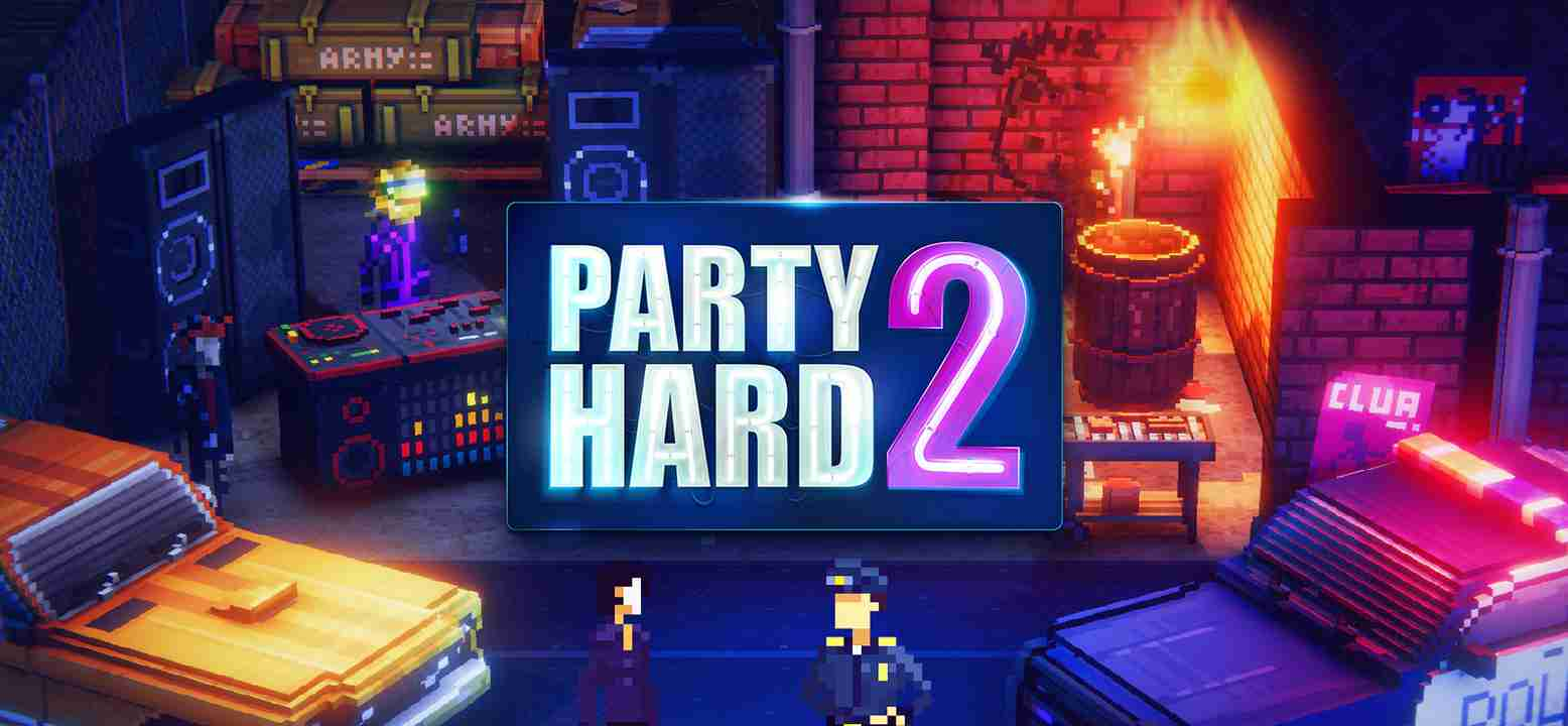 Party Hard 2 Background Image