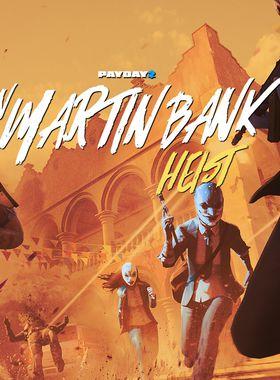 Payday 2: San Martín Bank Heist Key Art