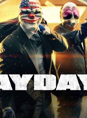 Payday 2 Key Art