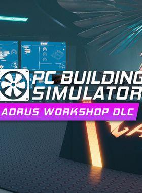 PC Building Simulator - AORUS Workshop Key Art