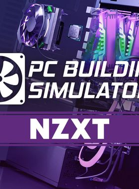 PC Building Simulator - NZXT Workshop Key Art