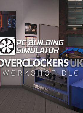 PC Building Simulator - Overclockers UK Workshop Key Art