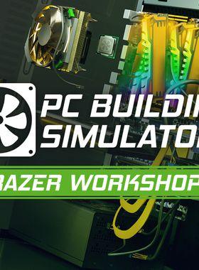 PC Building Simulator - Razer Workshop Key Art